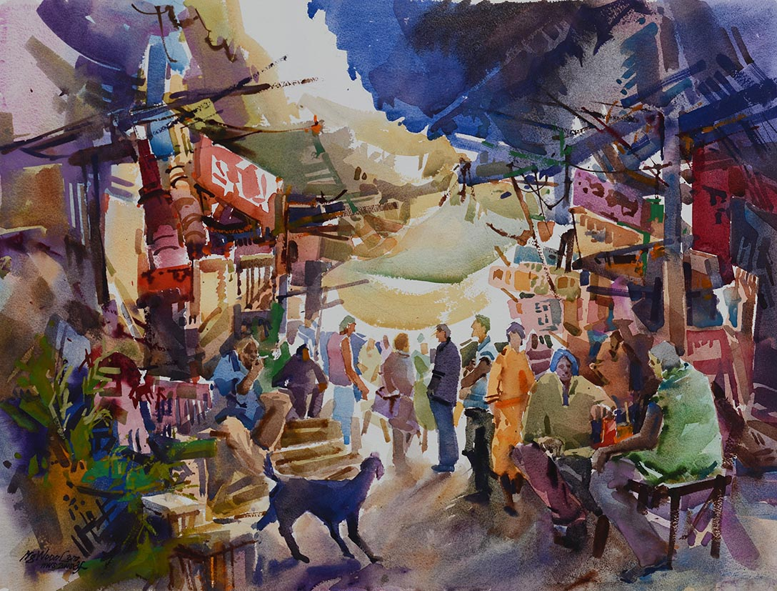 Singapore Watercolour and Oil Artist Ng Woon Lam